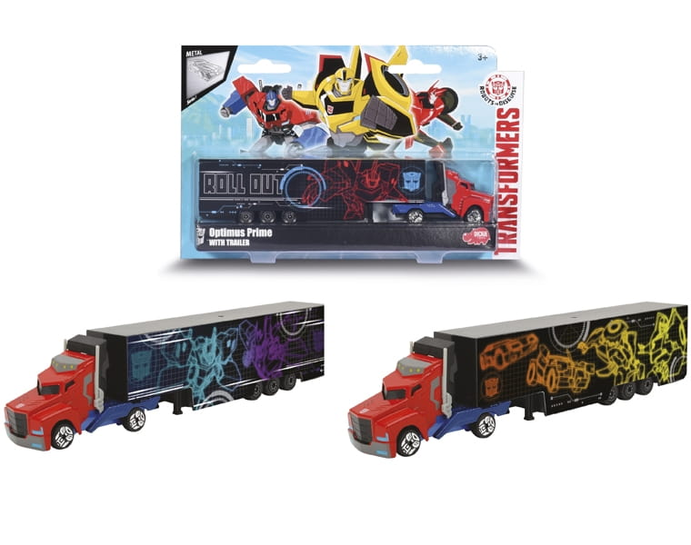 Трейлер Transformers Optimus Prime - 20 см (DICKIE)