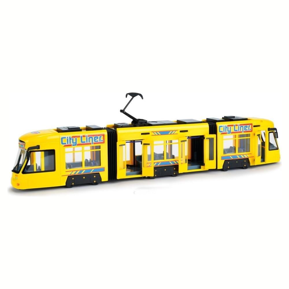Городской трамвай DICKIE желтый - 46 см