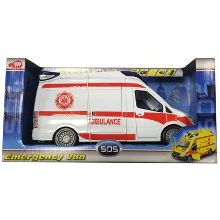 Спасательный автомобиль Dickie 3313919 Скорая помощь 34 см