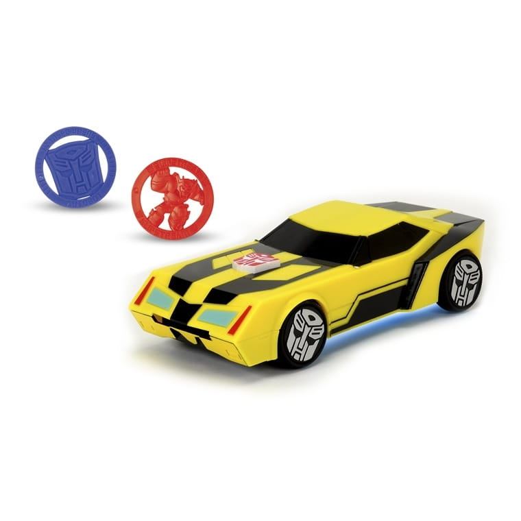 Боевая машинка Transformers Bumblebee со светом и звуком - 20 см (DICKIE)