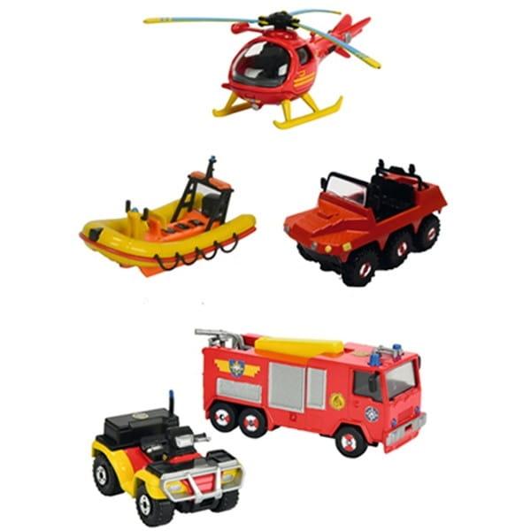 Транспортное средство FIREMAN SAM Пожарный Сэм 1:64 (Dickie)