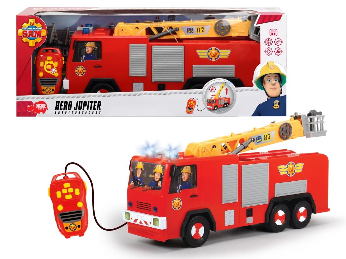 Радиоуправляемая пожарная машина Fireman Sam Пожарный Сэм Юпитер  62 см (Dickie) - Радиоуправляемые игрушки