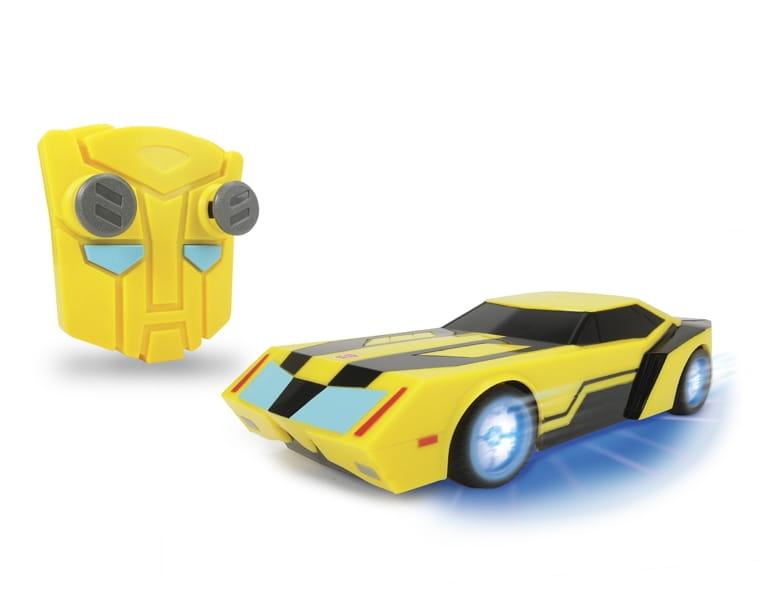Радиоуправляемый автомобиль Transformers Bumblebee со светом и звуком 1:24 - 18 см (Dickie)