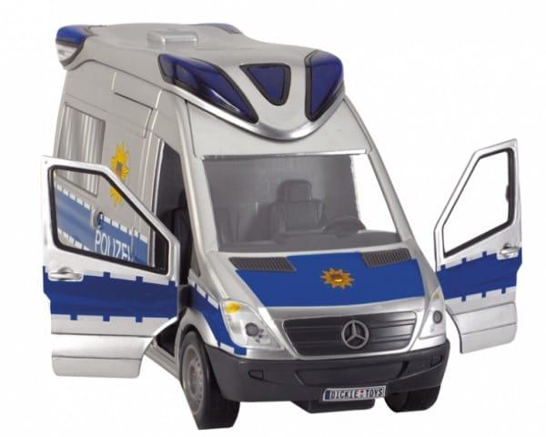 Спасательный автомобиль Dickie Полиция 34 см