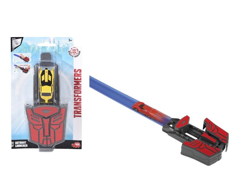 Ускоритель Transformers Автобот и машинка Die-Cast (Dickie)