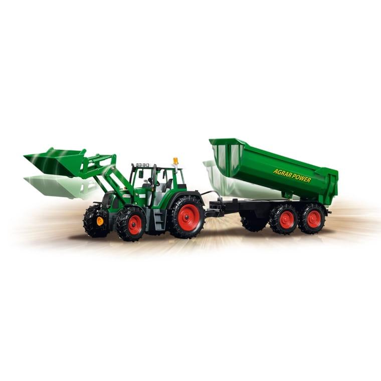Радиоуправляемый трактор Dickie с прицепом  60 см - Радиоуправляемые игрушки
