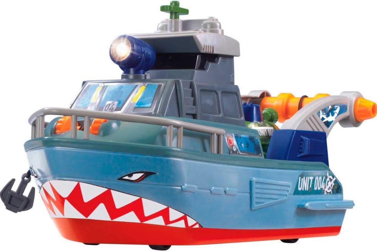 Игровой набор Dickie Военный корабль - 33 см