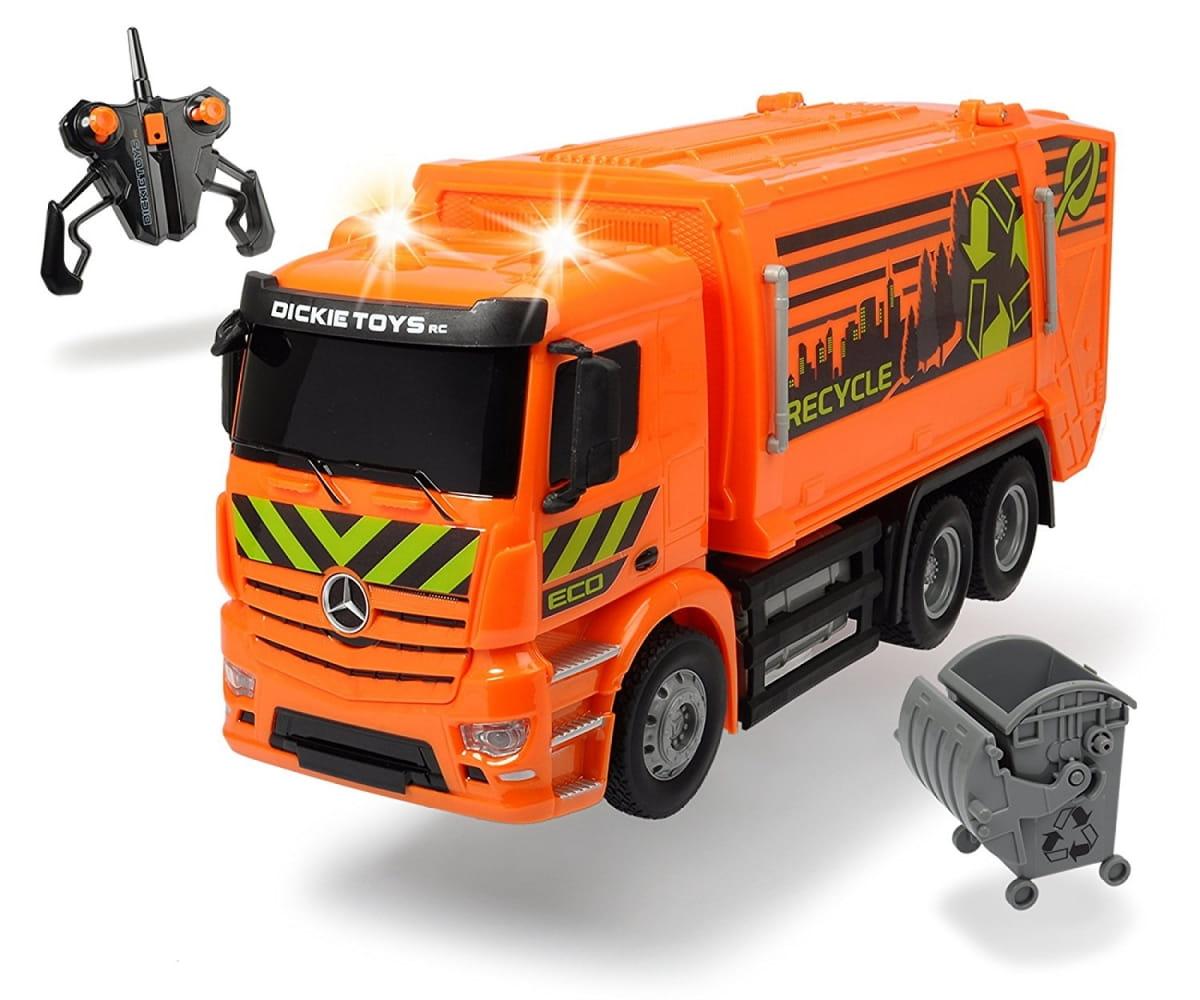 Радиоуправляемый мусоровоз Dickie Mercedes-Benz Antos - Радиоуправляемые игрушки