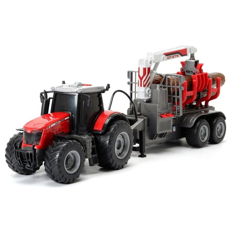 Трактор DICKIE Massey с прицепом - 41 см