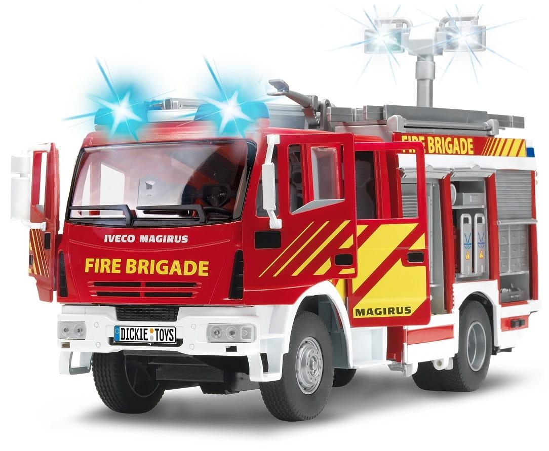 Пожарная машина Dickie с водой  30 см - Спецтехника