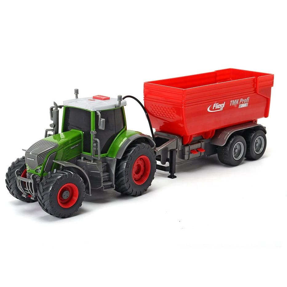Трактор DICKIE Fendt с прицепом - 41 см