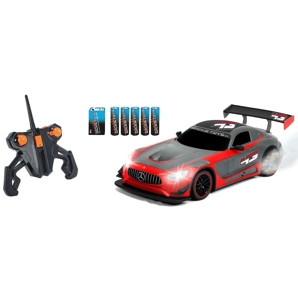 Радиоуправляемый автомобиль Dickie Mercedes-AMG GT3 с дымом - Радиоуправляемые игрушки