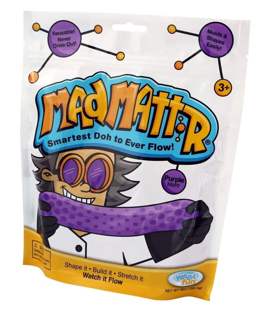 Масса для лепки Mad Mattr - фиолетовая