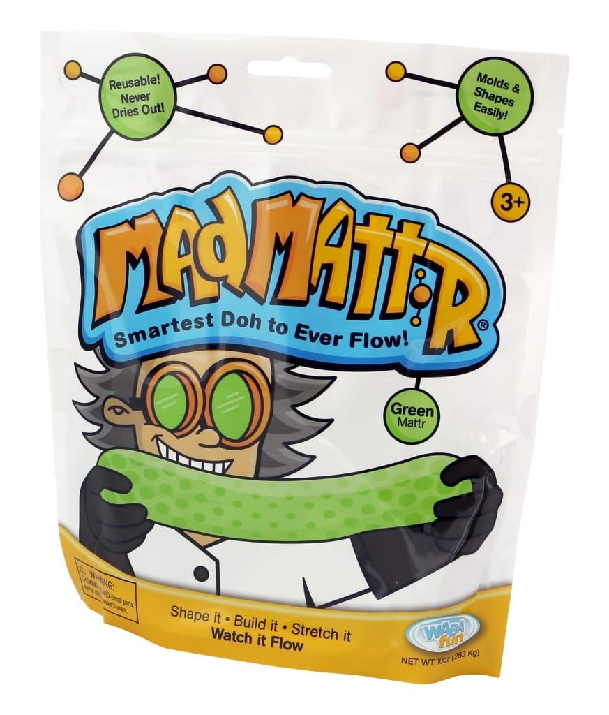 Масса для лепки Mad Mattr - зеленая