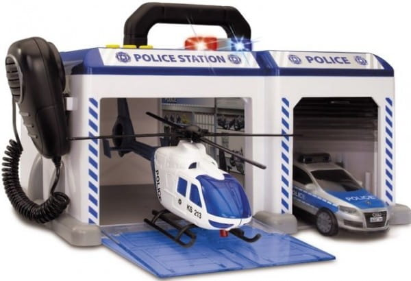 Купить Игровой набор Dickie Полицейская станция в интернет магазине игрушек и детских товаров
