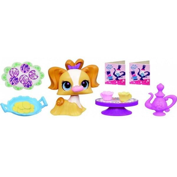 Купить Игровой набор Littlest Pet Shop Деликатесы - Собачка (Hasbro) в интернет магазине игрушек и детских товаров