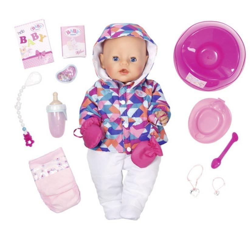 Интерактивная кукла-пупс BABY BORN Зимняя пора - 43 см (Zapf Creation)