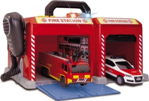 Купить Игровой набор Dickie Пожарная станция 2 в интернет магазине игрушек и детских товаров