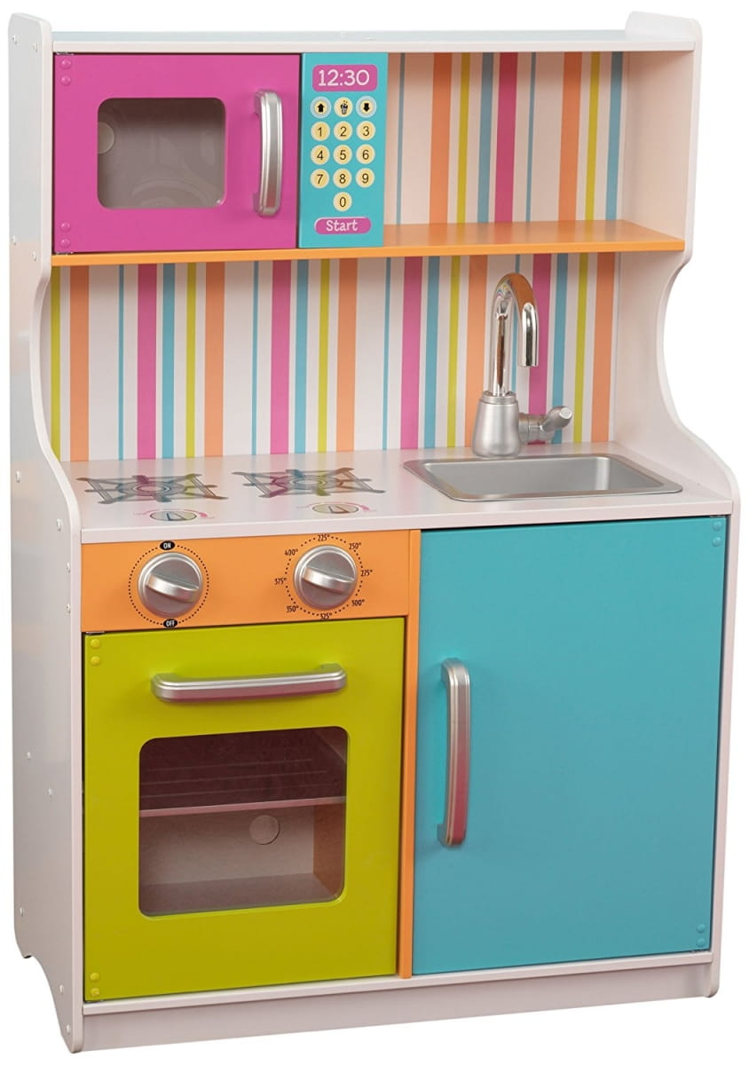 Детская кухня KIDKRAFT Bright Toddler Радуга мини