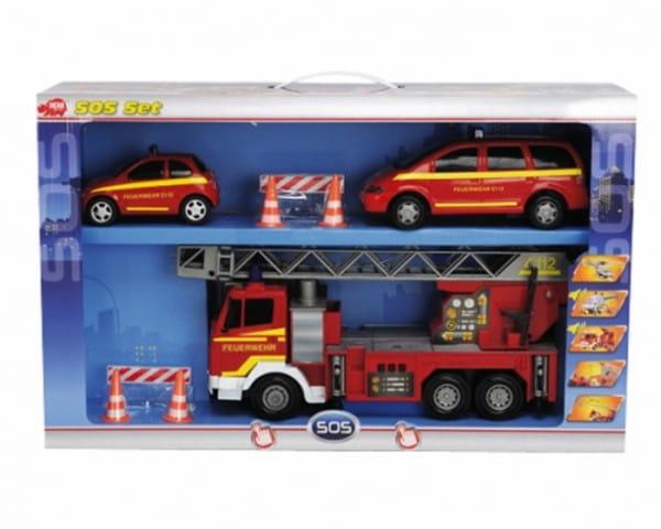 Спасательный набор Dickie 3313323 Пожарная служба