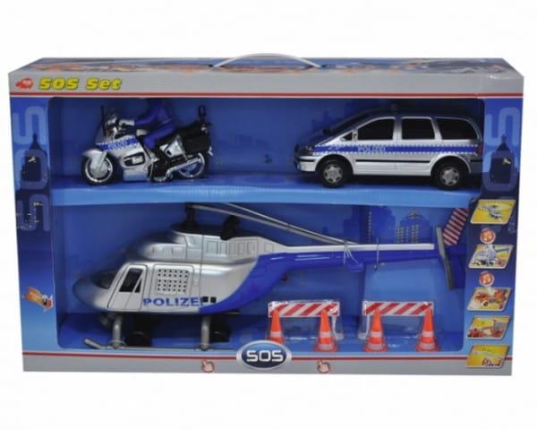 Спасательный набор Dickie Полиция