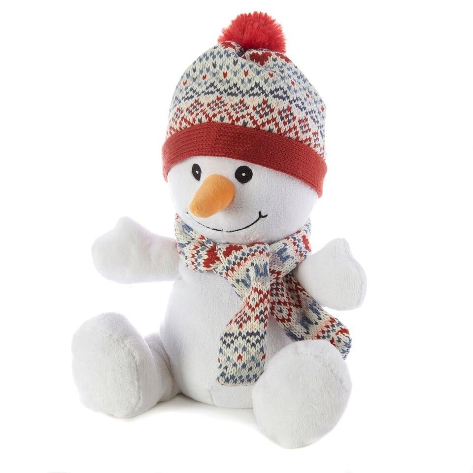 Игрушка грелка WARMIES Снеговик