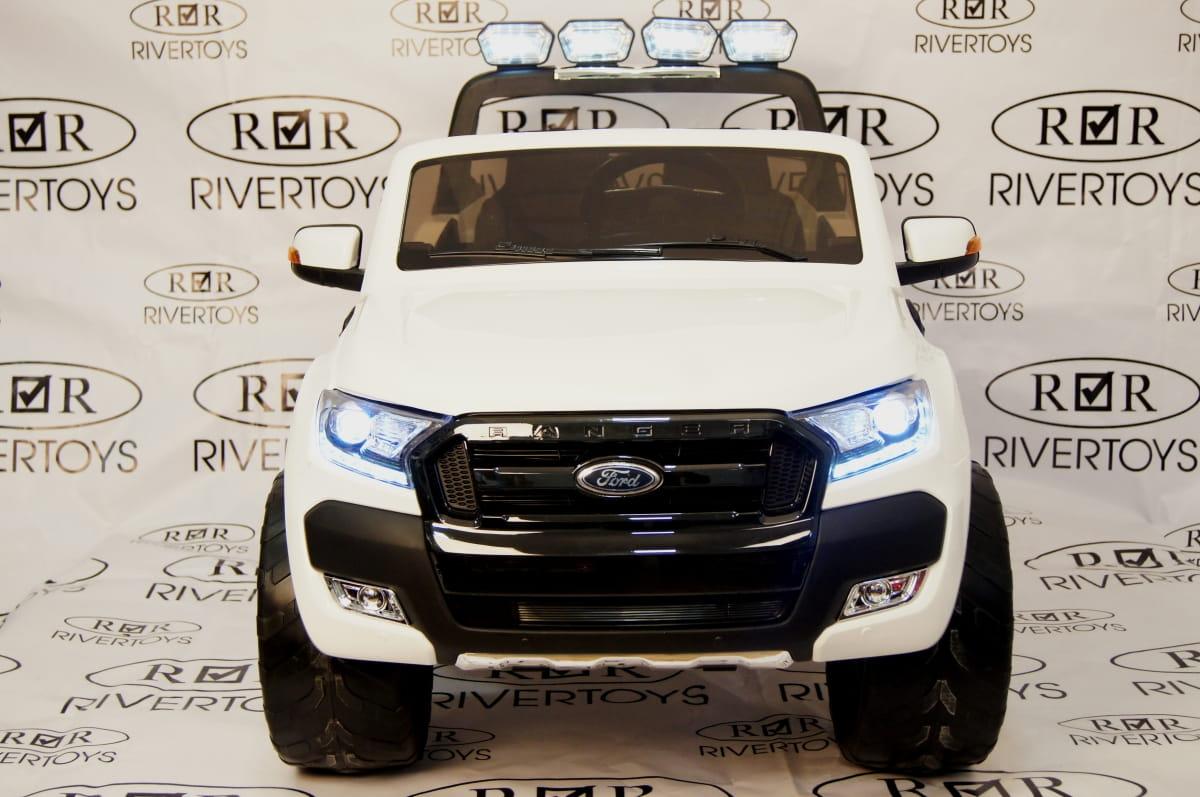 Электромобиль River Toys New Ford Ranger 4WD с дистанционным управлением (лицензионная модель) - Электромобили
