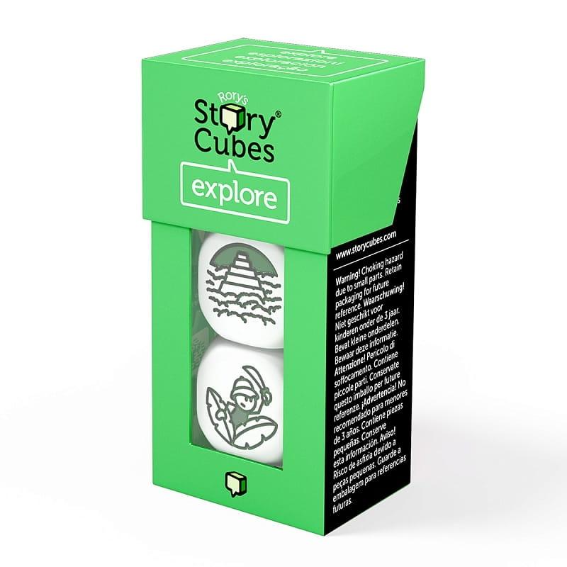 Настольная игра Rorys Story Cubes Кубики историй  Открытия - Развивающие игры