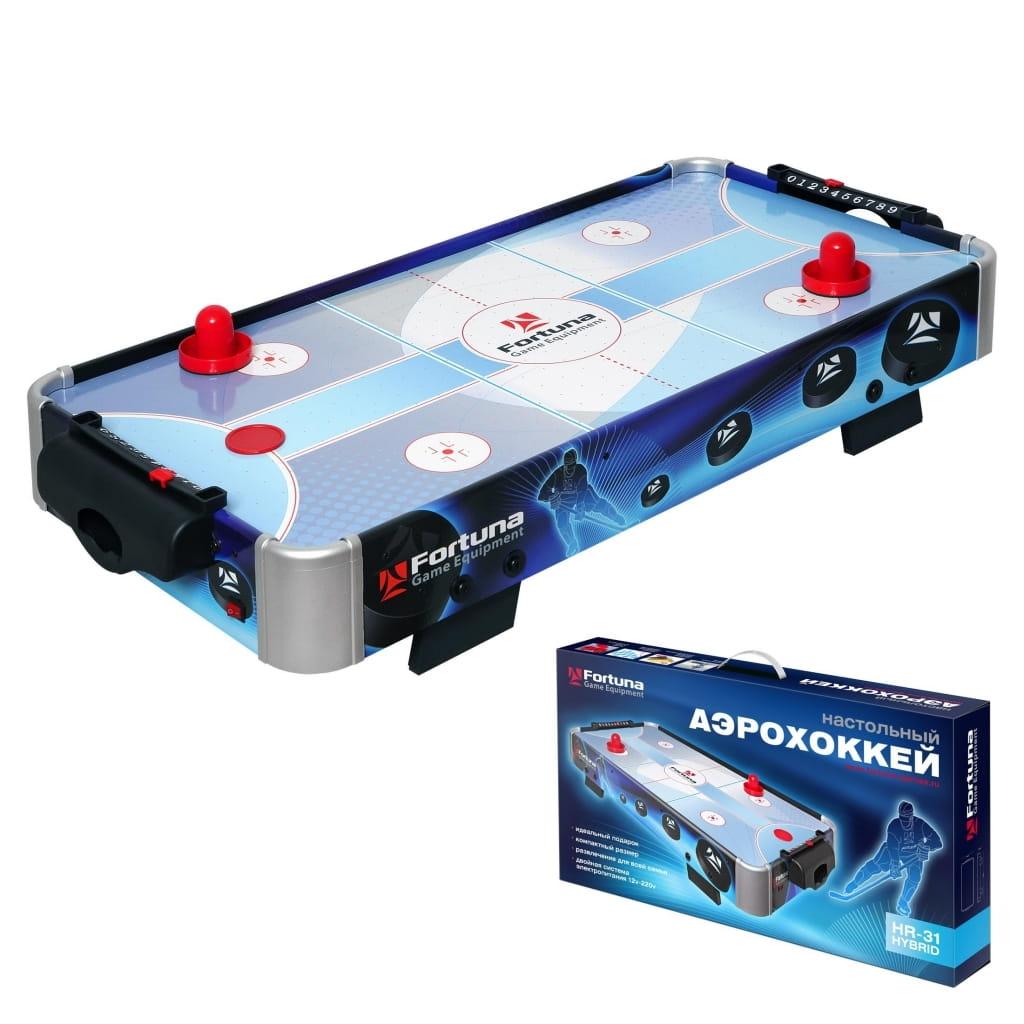 Настольная игра Fortuna Аэрохоккей HR-31 Blue Ice Hybrid - Настольный хоккей и футбол