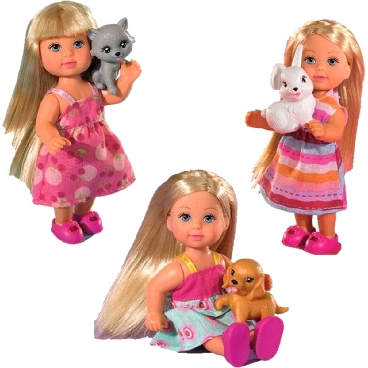 Кукла Evi Еви со зверюшками (SIMBA)