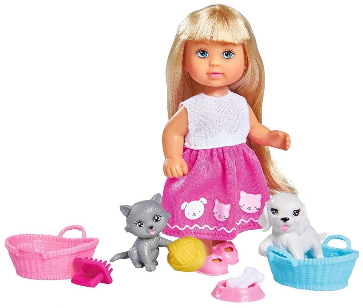 Кукла Evi Еви Домашние питомцы (SIMBA)