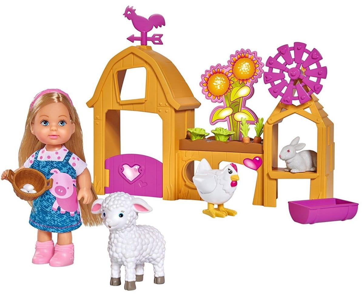 Кукла Evi Еви Счастливая ферма (SIMBA)