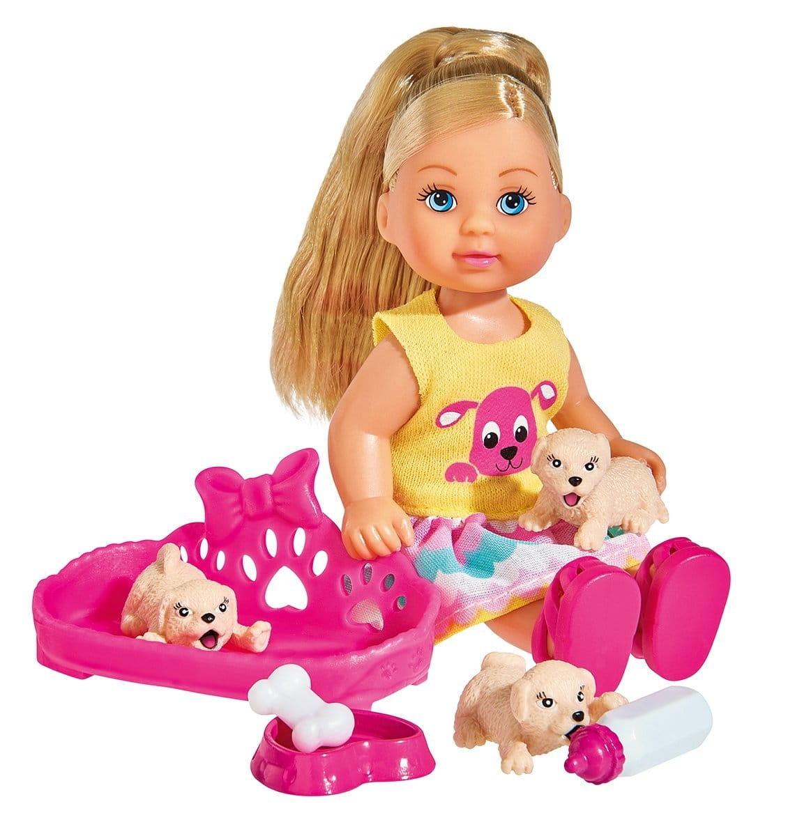 Кукла Evi Еви с собачками (SIMBA)