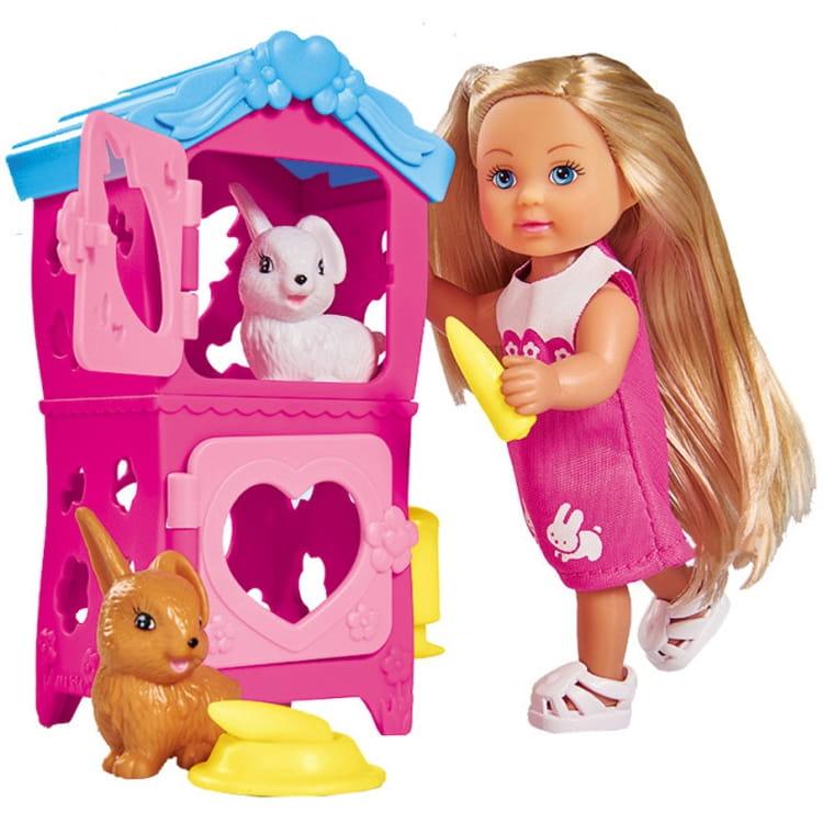 Кукла Evi Еви с кроликами (SIMBA)