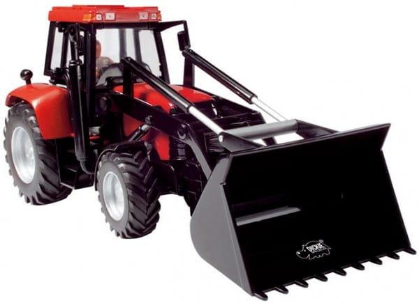 Купить Трактор Dickie красный 25 см в интернет магазине игрушек и детских товаров