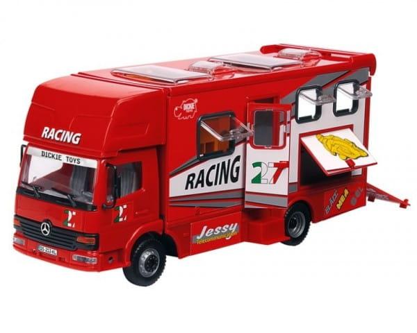 Игровой набор Dickie Автогонки красный