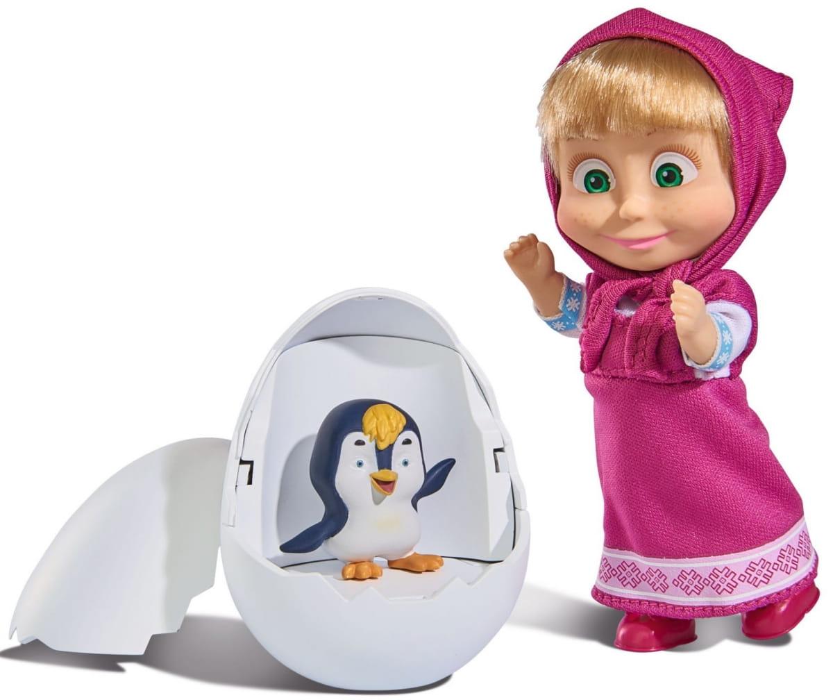 Игровой набор Маша и Медведь Маша с пингвиненком в яйце (SIMBA) - Маша и медведь