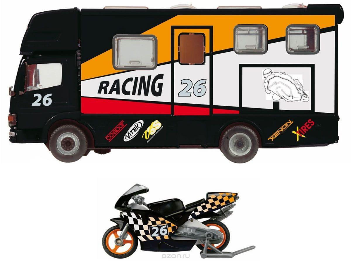 Игровой набор Dickie 3414861 Автогонки черный