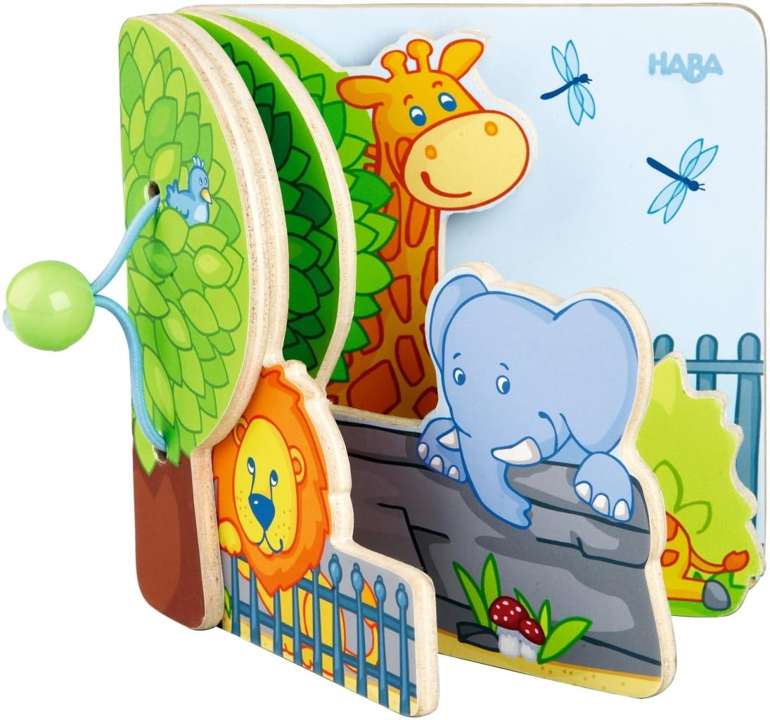 Книга Haba Друзья зоопарка - Развивающие игры