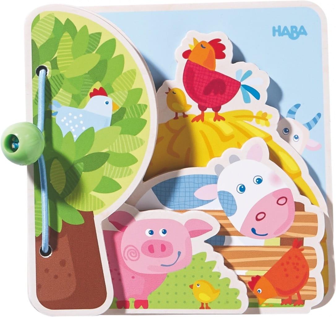 Книга Haba Друзья на ферме - Развивающие игры