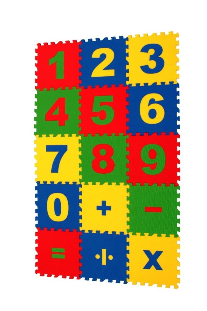 Напольная мозаика - пазл ECO COVER Математика
