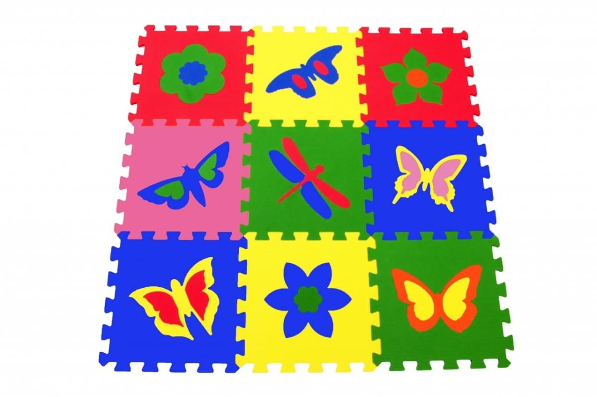 Напольная мозаика - пазл ECO COVER Бабочки