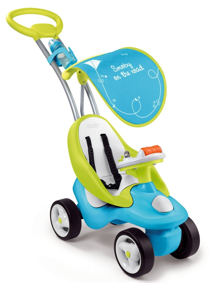 Каталка детская Bubble Go Neo  синяя (Smoby) - Каталки и ходунки