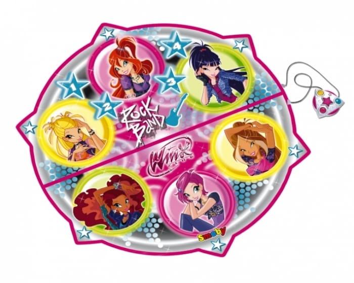 Танцевальный коврик Winx (SMOBY) - Игровые наборы для девочек