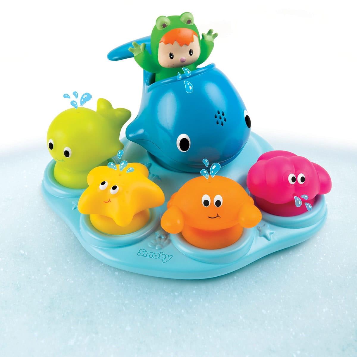 Игровой центр для ванной Smoby Островок морских обитателей - Развивающие центры и игрушки