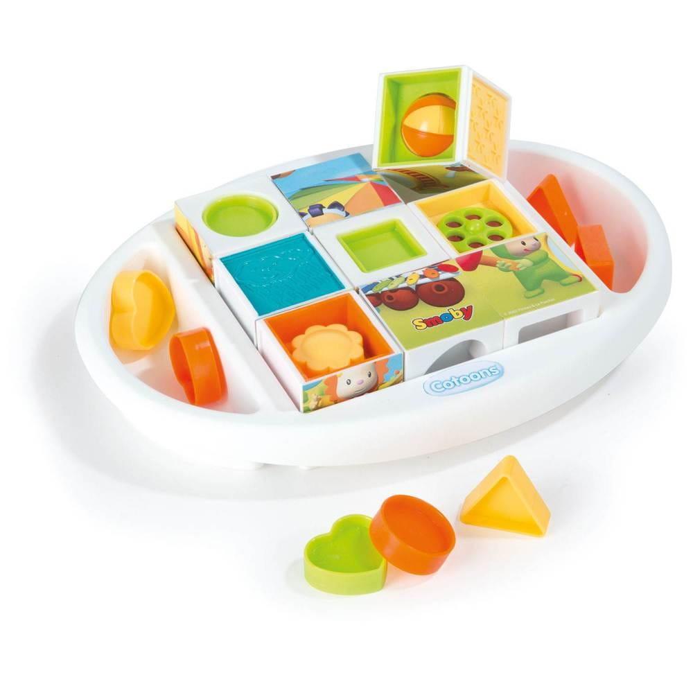 Развивающие кубики-пазлы Smoby - Развивающие центры и игрушки