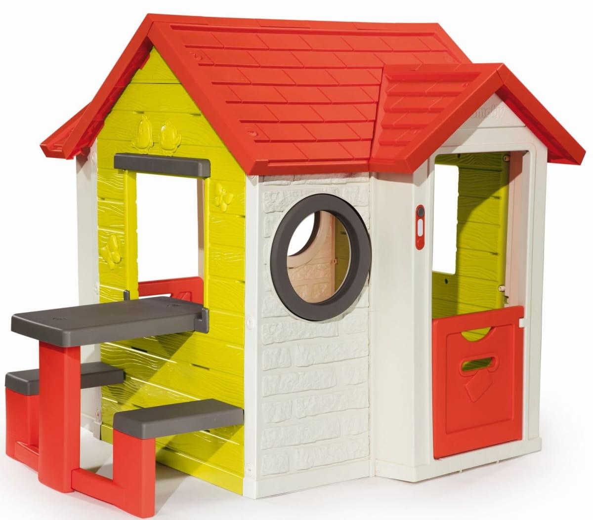 Детский игровой домик со столом SMOBY