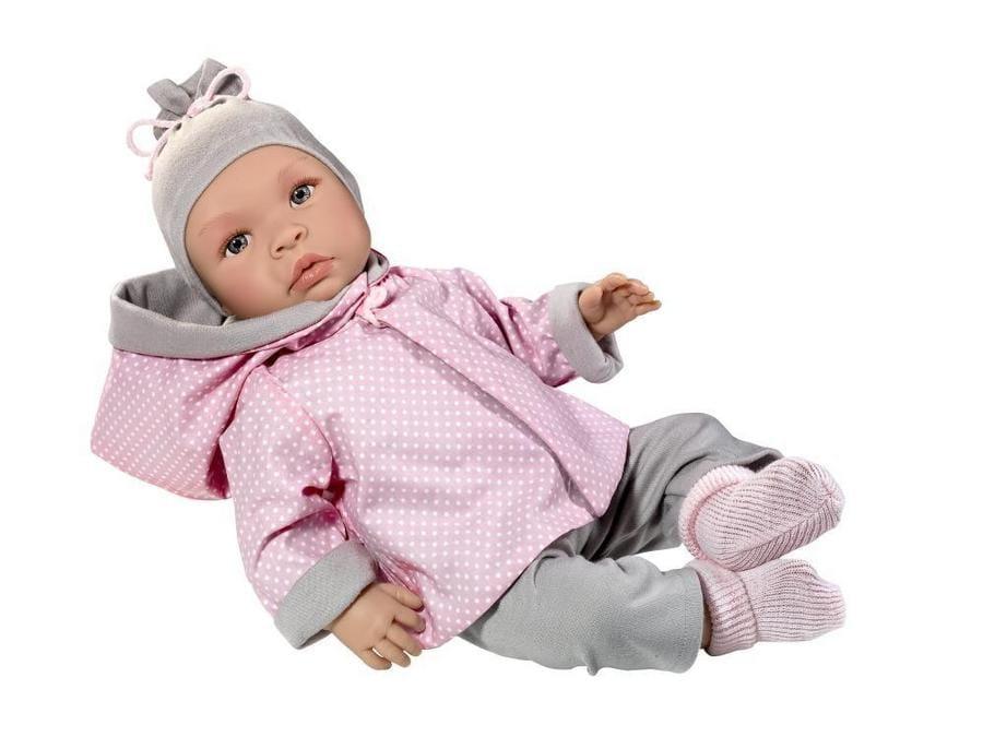 Кукла-пупс Asi Лео  46 см (в серо-голубом костюмчике) - Куклы и пупсы