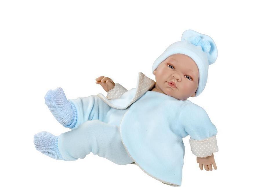 Кукла Asi Пабло  43 см (в теплом костюмчике) - Куклы и пупсы