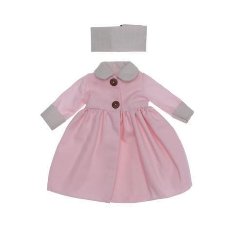 Комплект одежды ASI Розовое пальто - 30 см